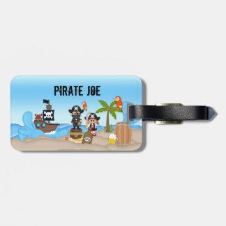 Piraten-Abenteuer-Klinge-Bier-Rum-erwachsener Gepäckanhänger
