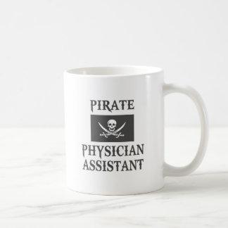 Piraten-Arzt-Assistent Kaffeetasse