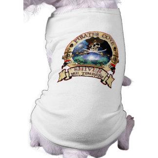 Piraten-Bucht-Haustier-Kleidung Shirt
