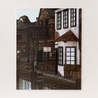 Piraten-Dorf Puzzle
