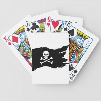 Piraten-Flagge Bicycle Spielkarten