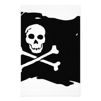 Piraten-Flagge Briefpapier