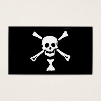 Piraten-Flagge Emanuel Wynne Visitenkarte