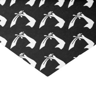 Piraten-Flagge Thomas Tew Seidenpapier