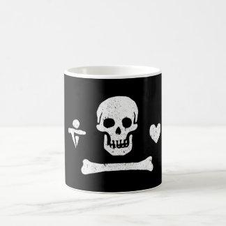 Piraten-Flaggen-Kaffee-Tasse Emmanuel Wynn Kaffeetasse