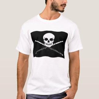 Piraten-Flöten-Musik-T-Shirt T-Shirt