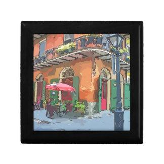Piraten-Gasse New Orleans Erinnerungskiste
