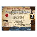 Piraten-Geburtstags-Einladung