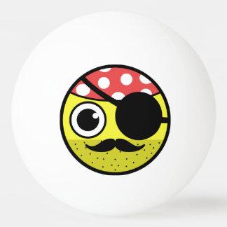 Piraten-Gesicht Tischtennis Ball