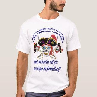 Piraten-Hintern-Digital-Kunst-Ausdrücke T-Shirt