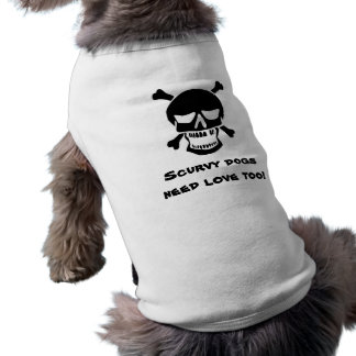 Piraten-Hund - Scurvy Hundebedarfs-Liebe auch Top