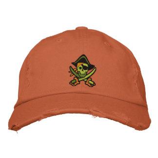 Piraten-Kapitän Skull Embroidered Cap Besticktes Cap