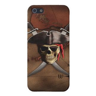 Piraten-Karte iPhone 5 Cover