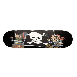 Piraten-Kerle Skate Board