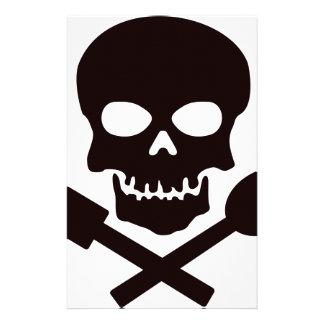 Piraten-Koch Briefpapier