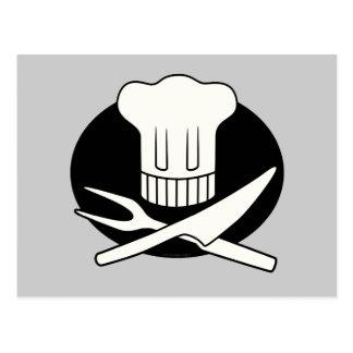 Piraten-Koch Postkarte