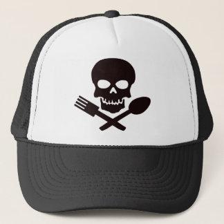 Piraten-Koch Truckerkappe