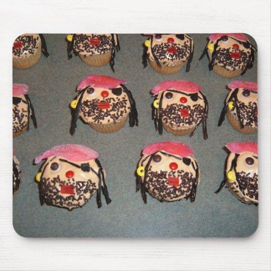 Piraten Kuchen Mausunterlage Mousepad Zazzle
