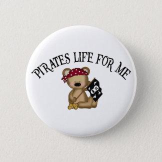 Piraten-Leben für mich Runder Button 5,1 Cm