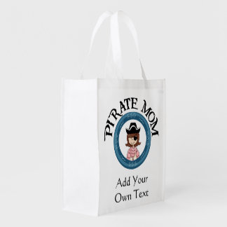 Piraten-Mamma mit Augen-Flecken Einkaufstasche