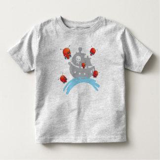 Piraten-Marienkäfer-T - Shirt