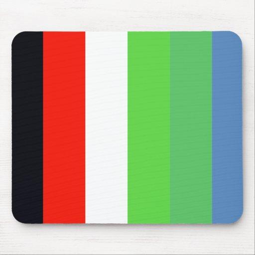 Piraten-Party-Flagge Mousepad