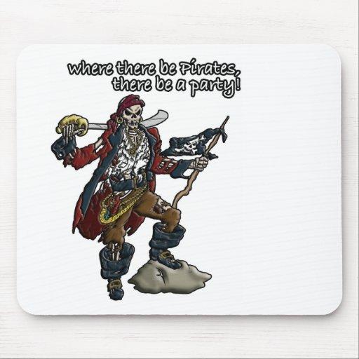 Piraten-Party! Mauspads