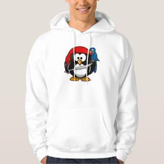 Piraten-Pinguin Hoodie