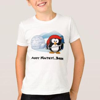 Piraten-Pinguin in der Antarktis T-Shirt