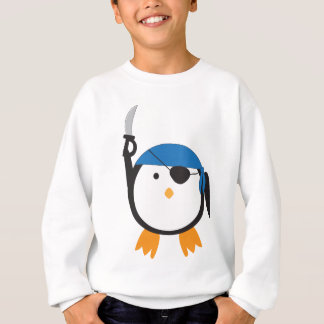 Piraten-Pinguin Sweatshirt