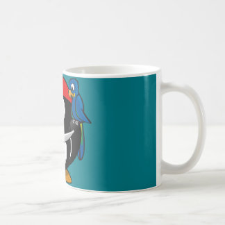 Piraten-Pinguinpapagei Kaffeetasse