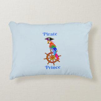 Piraten-Prinz - Papageien-Polyester-Akzent-Kissen Zierkissen