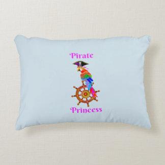 Piraten-Prinz - Papageien-Polyester-Kissen Zierkissen