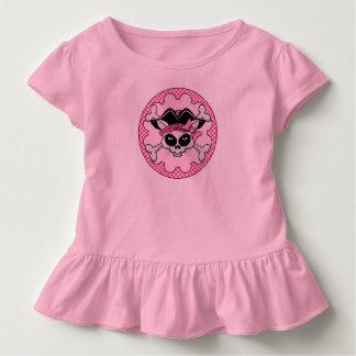 Piraten-Prinzessin Kitty Skull Kleinkind T-shirt