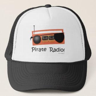 Piraten-Radio Truckerkappe