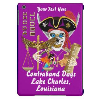 Piraten-Richter-Schmuggeltagesansicht über Entwurf