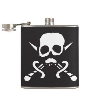 Piraten-Schädel-Flasche Flachmann