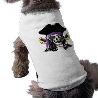 """""""Piraten-Schädel-"""" Haustier-Shirt T-Shirt"""