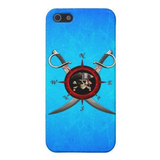 Piraten-Schädel-Kompass-Rose Etui Fürs iPhone 5