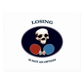 Piraten-Schädel-Wahl-Klingeln Pong Postkarte
