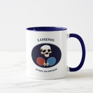 Piraten-Schädel-Wahl-Klingeln Pong Tasse