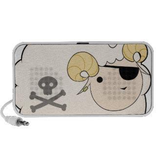 Piraten-Schafe Mobile Lautsprecher