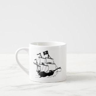 Piraten-Schiff Espressotasse