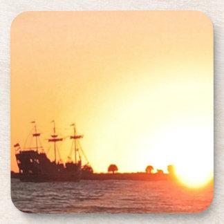 Piraten-Schiff Untersetzer