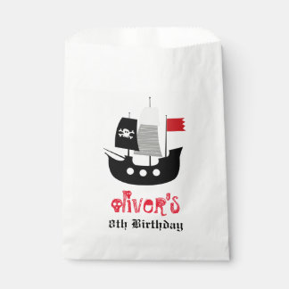 Piraten-Schiffs-Skeleton Geschenktütchen