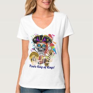 Piraten-Schmuggelfrauen alles Art-Licht T-Shirt