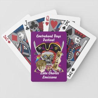 Piraten-Schmuggeltage alle Arten Pokerkarten