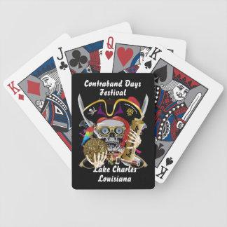 Piraten-Schmuggeltage alle Arten Spielkarten