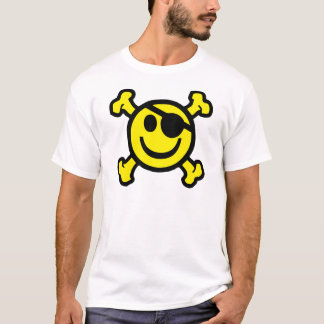 Piraten-smiley T-Shirt