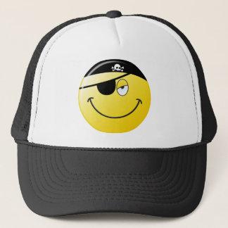 Piraten-Smiley Truckerkappe
